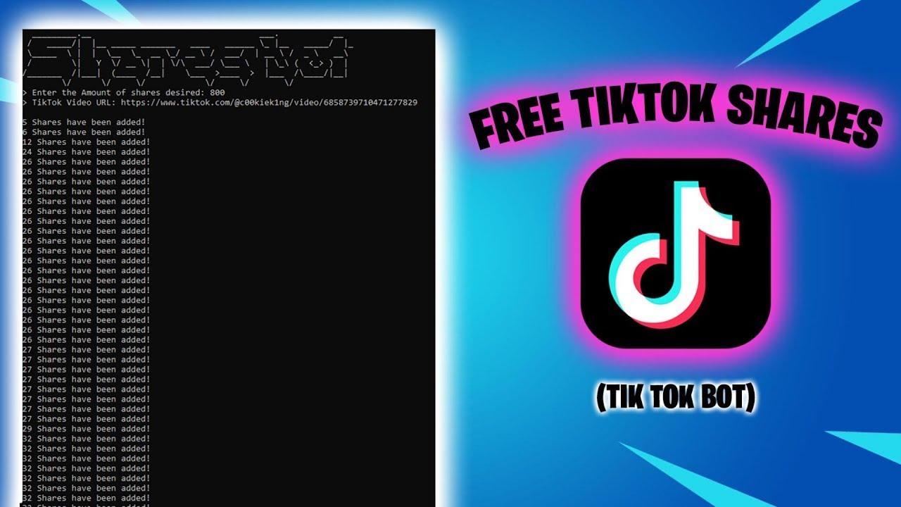 Tiktok Bot For Shares Review