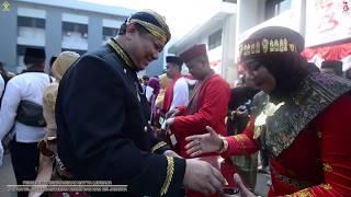 Suasana Peringatan  Hari Kemerdekaan Republik Indonesia ke-73 di Kanwil Kemenkumham DKI Jakarta