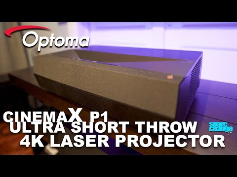 Is This The One To Get? Optoma CinemaX P1 4K Ultra Short Throw Laser Projector Review