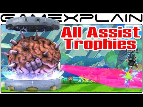 All Assist Trophies in Smash Bros Wii U