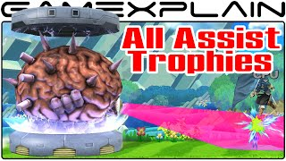 All Assist Trophies in Smash Bros Wii U