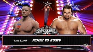 WWE 2K15. POMEH vs RUSEV