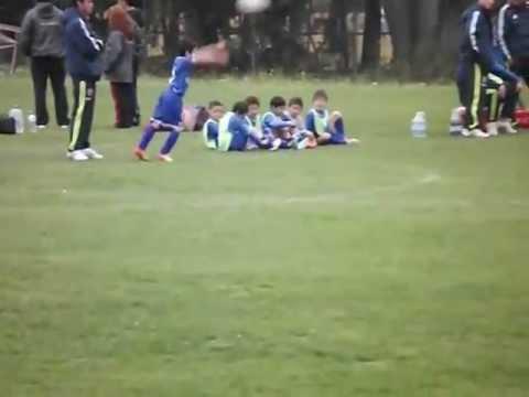 Gol  de Nicolás Álvarez , Club Universidad de Chile , Sub 8