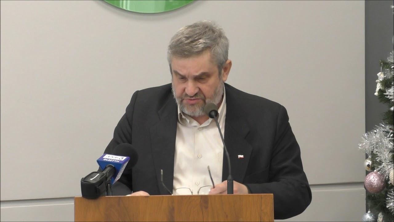 Minister Rolnictwa   Krzysztof Ardanowski  na spotkaniu w Lubawie cz.I