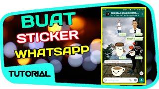 Download Video Stiker Whatsapp ! Cara Membuat Sticker WA Sendiri MP3 3GP MP4