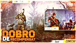 FREE FIRE- COMO DOBRAR AS RECOMPENSAS?!