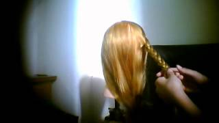 how to make a disney hairstyle of one of the barbie cartoon