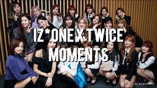 IZ*ONE Nako The Biggest TWICE Fangirl + IZ*ONE X TWICE MOMENTS