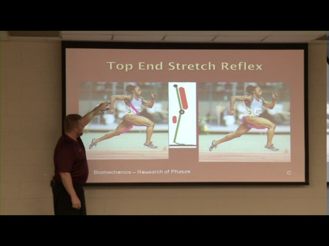 Transfer of Speed Performance Presentation cal dietz Video Part 1