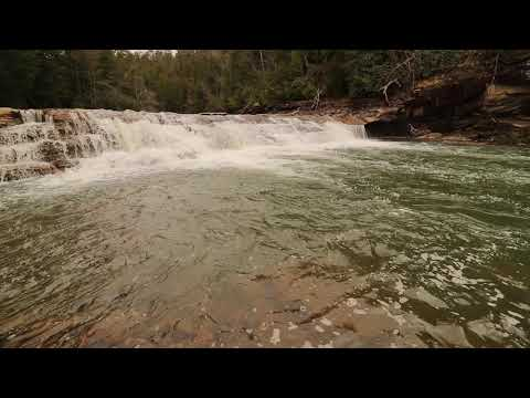 East Fork Falls, East Fork Obey River, Overton County, Tennessee