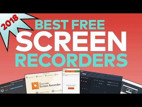 Best FREE Screen Recorder / Capture Software of 2018