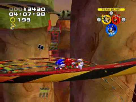 Sonic Heroes - Part 9: (Team Sonic)08~Bullet Station/Chaos Emeralds 4