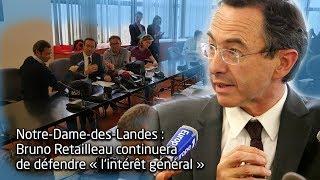 Notre-Dame-des-Landes : Bruno Retailleau veut rencontrer Emmanuel Macron