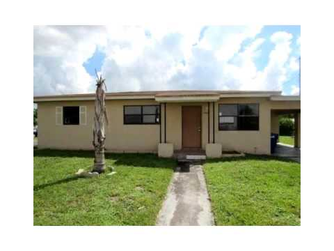 17201 NW 33rd Ct,Miami Gardens,FL 33056 House For Sale