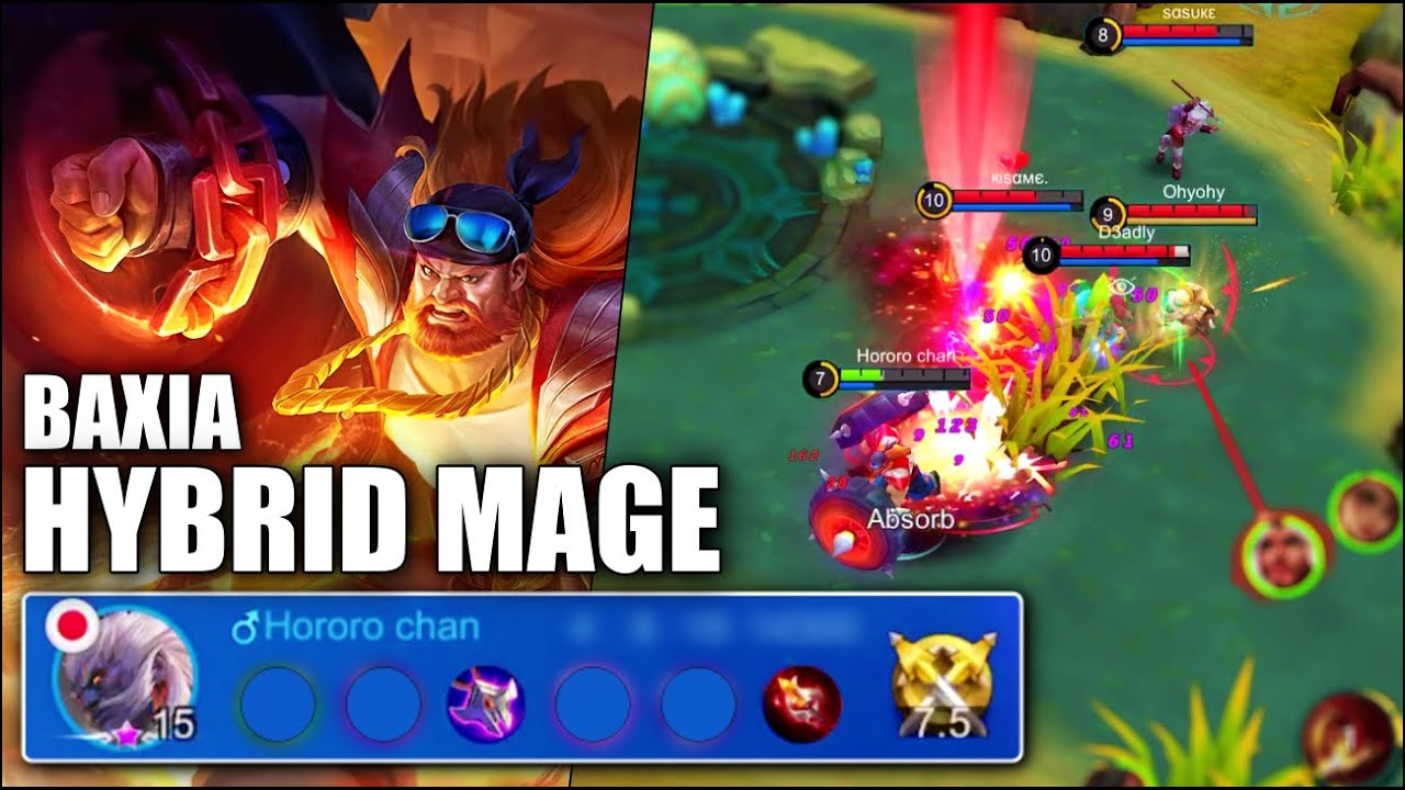 THE WORSE HYBRID MAGE BAXIA IN RANKED