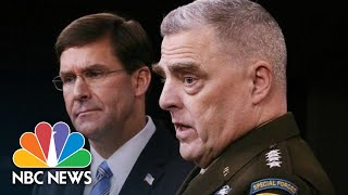 Pentagon On Hero Dog: 'We're Protecting His Identity' | NBC News