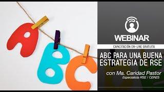 Webinar CERES  ABC para una buena estrategia de RSE