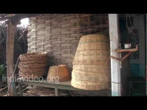 Basket Makers in Kuchipudi Village