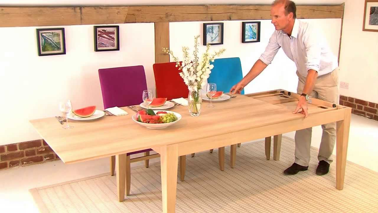 Dining Room Chair Design Plans large extendable table - youtube