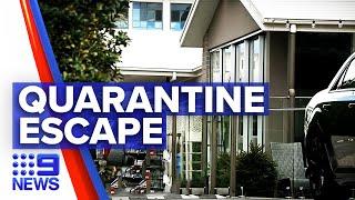 Coronavirus: First Queensland conviction for breaching quarantine rules | 9 News Australia