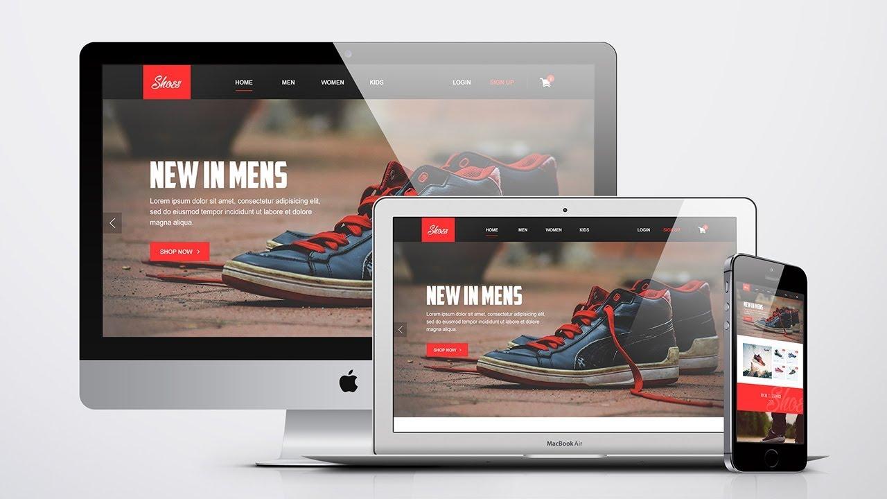 mockup website web photoshop cc package starter business tools