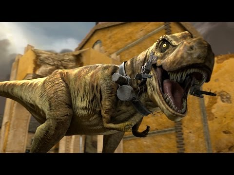 T.Rex With Guns! - Dino D Day - Ep3