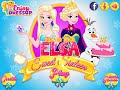Now and Then Elsa Sweet Sixteen- Fun Online Fashion Games for Girls Kids