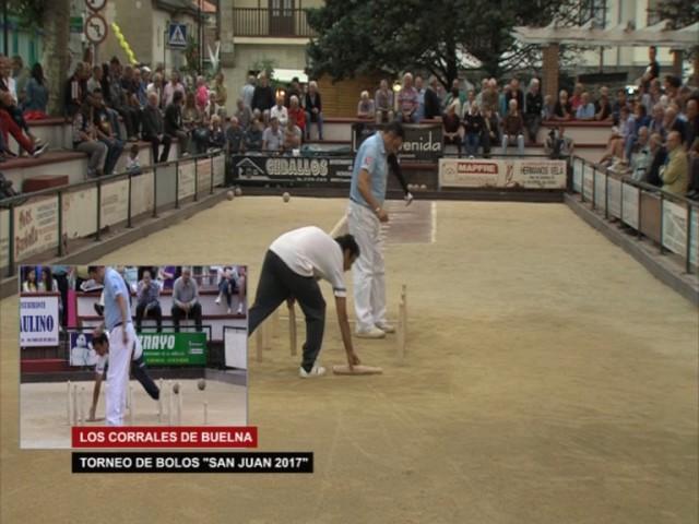 Torneo de Bolos de San Juan en Corrales de Buelna