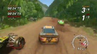 Sega Rally Revo - RUF Rt 12 Gameplay & Replay