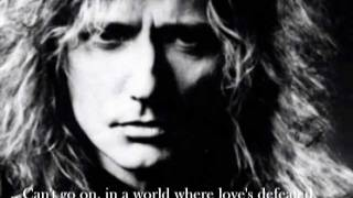 "David Coverdale - ""The Last Note of Freedom"" (1990)"