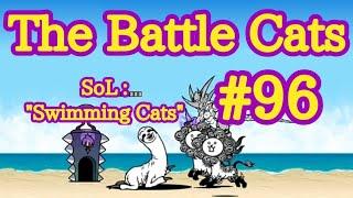 [#96] The Battle Cats en Español: 'Stories of LegendsCap.#4: 'Swimming Cats' (1 Corona)