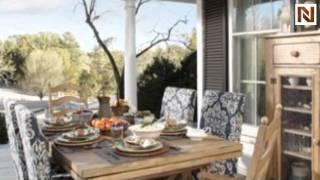 Kincaid 33-056 Homecoming Farmhouse Leg Table Pine
