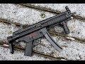 HK94/MP5 Submachine gun - B&T Suppressor