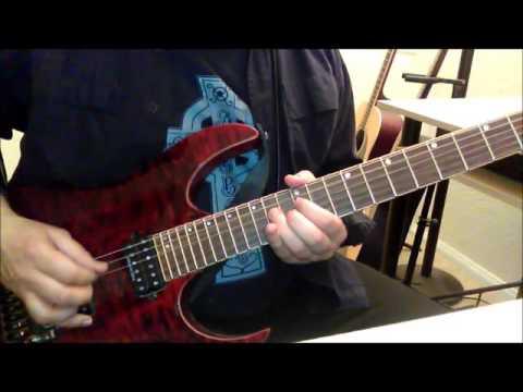 MotörheadJailbait guitar  SOLO ADDED