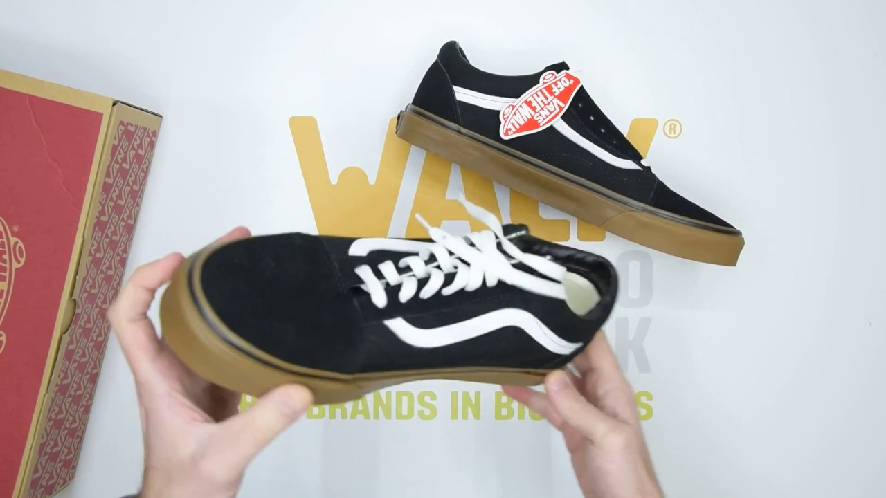 8a48033d88 Vans Old Skool - Black Gum - Unboxing