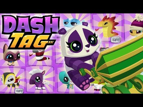 Tagging 10 Pets In Dash Tag! | Dash Tag Wild Works