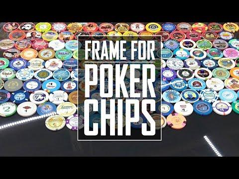 37 - Poker Chip Frame