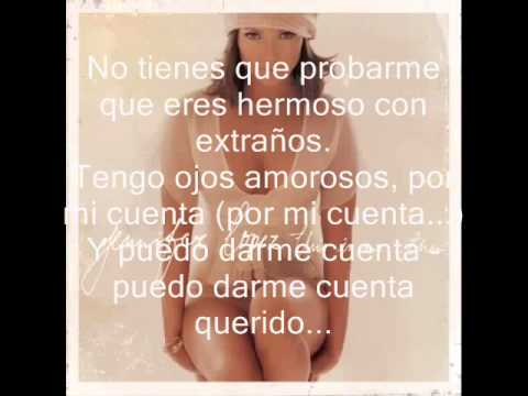 Jennifer Lopez - You Belong to me (Traducida al español)