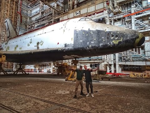 URBEX   BURAN Spaceship Hangar In BAIKONUR,2019