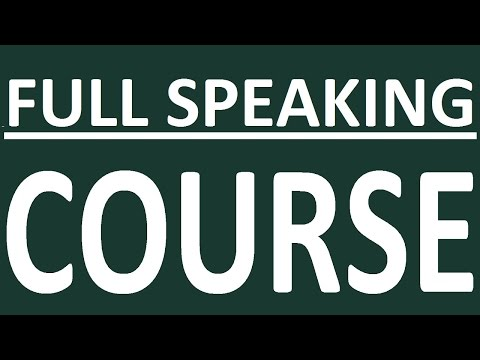 FULL COURSE - ENGLISH SPEAKING. PRACTICE. How To Learn English Speaking Easily. English Conversation