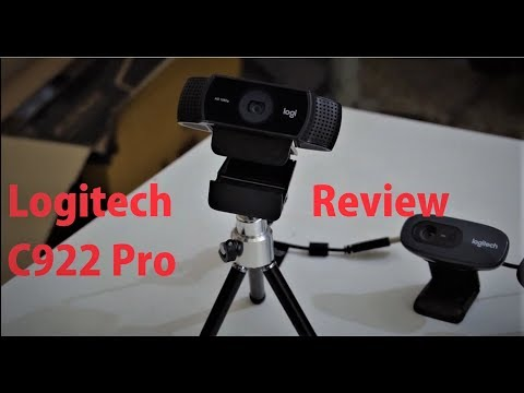 Logitech C922 Webcam Review | Giveaway Of Webcam on 10000 Likes