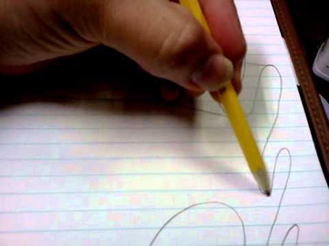 como hacer un pergamino a lapiz facil en 3 minutos