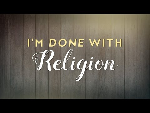 I'm Done With Religion | Christian sermon by Troy Black