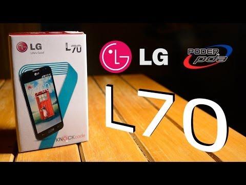 LG L70 - Unboxing en Español