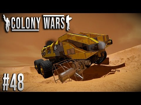 Space Engineers - Colony WARS! - Ep #48 - SURVIVORS?!