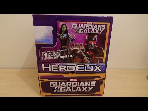 Heroclix Guardians Of The Galaxy   Unboxing