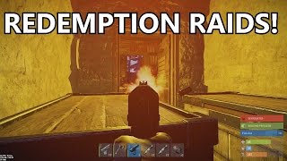 REDEMPTION RAIDS! (Rust Co-op Survival) #32