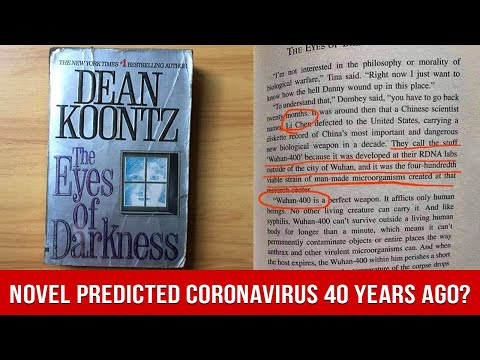40 Years Ago, A Novel Predicted The Coronavirus Outbreak; Called It Wuhan-400?