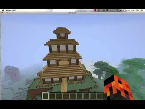 Minecraft case lussuose giapponese youtube for Case in stile giapponese