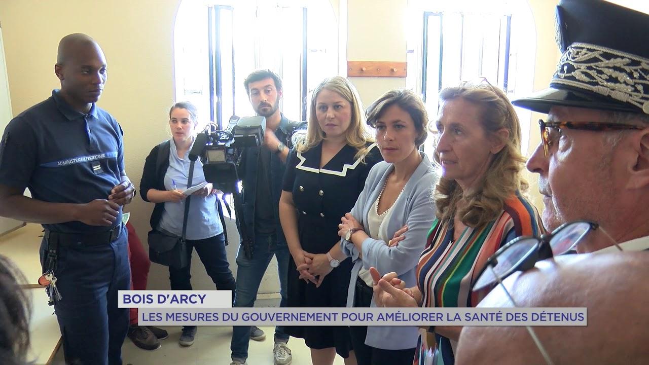 Yvelines | Bois d'Arcy : les mesures du gouvernement pour améliorer la santé des détenus